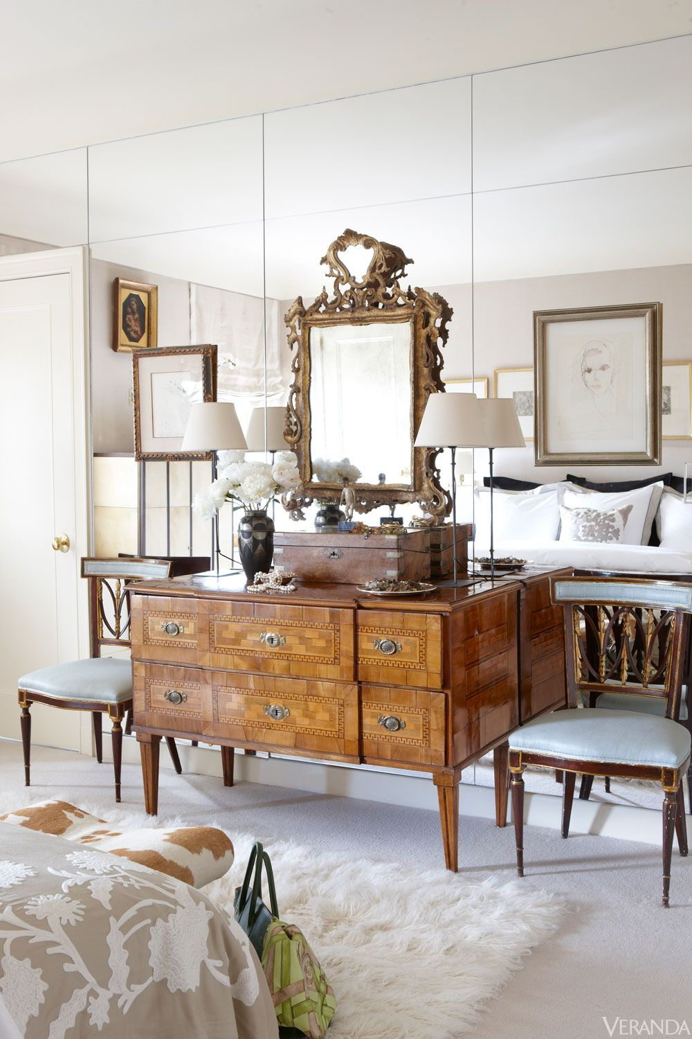 Fashion Designer-Decorated Upper East Side Apartment | Pinterest ...
