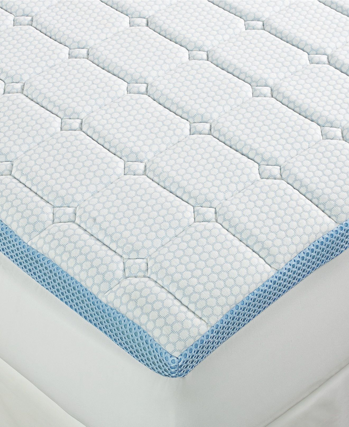 Closeout Sensorgel 3 Quilted Memory Foam Mattress Toppers