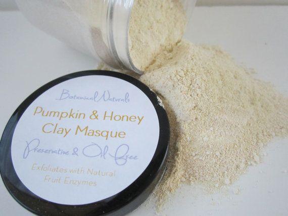 Pumpkin & Honey Facial Masque  All Natural by BotanicalNaturals, $8.00
