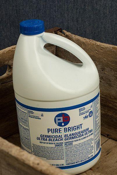 Germicidal Bleach Gal Bleach Pure Products Cleaning
