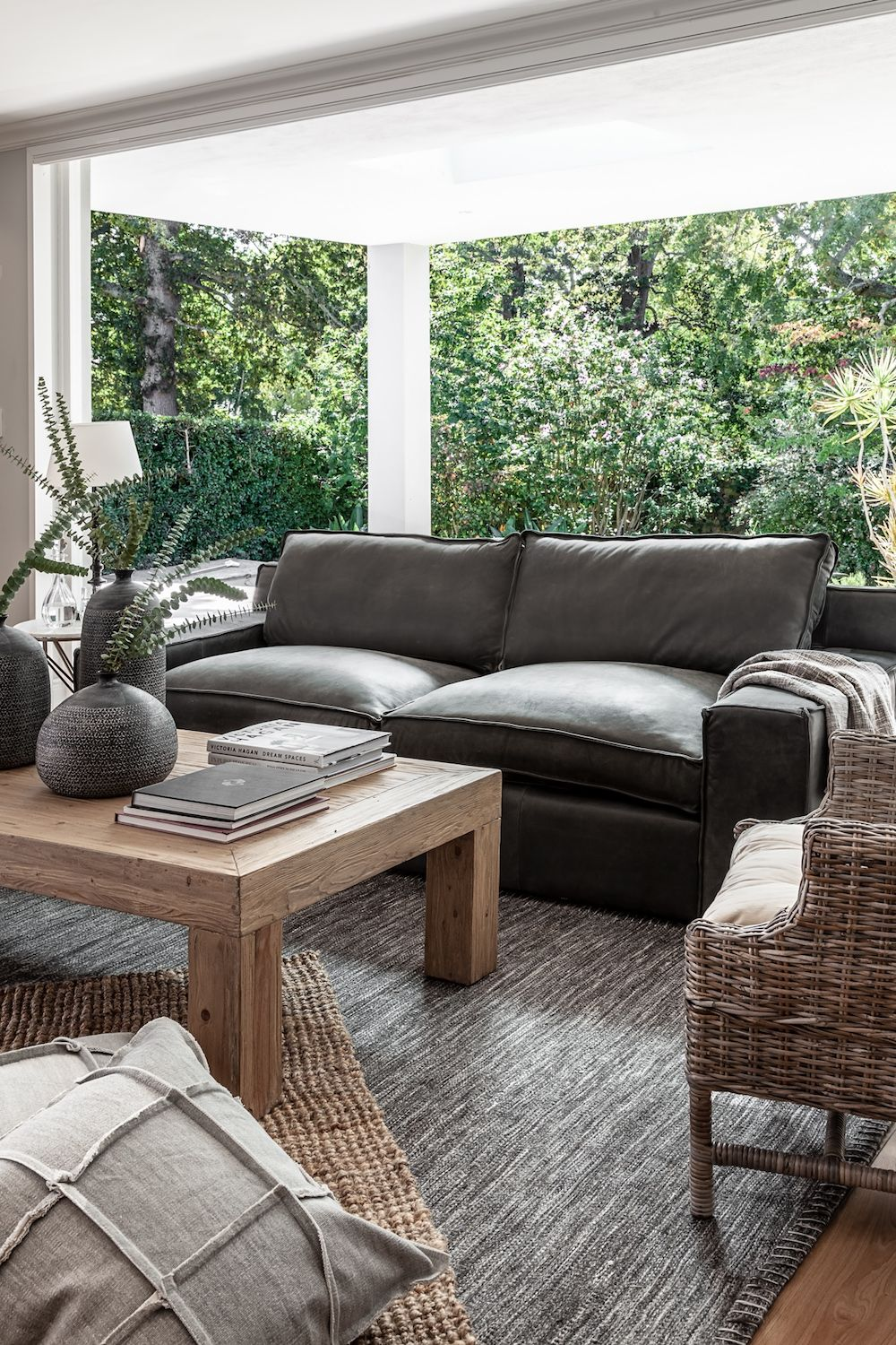100% Leather Upholstered Couches in 2020 | Living room ...