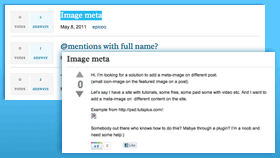 Q [plugin - lite version available at http://premium.wpmudev.org/project/qa-wordpress-questions-and-answers-plugin-lite/ ] allows any WordPress site to have a fully featured questions and answers section – just like StackOverflow, Yahoo Answers and Quora.