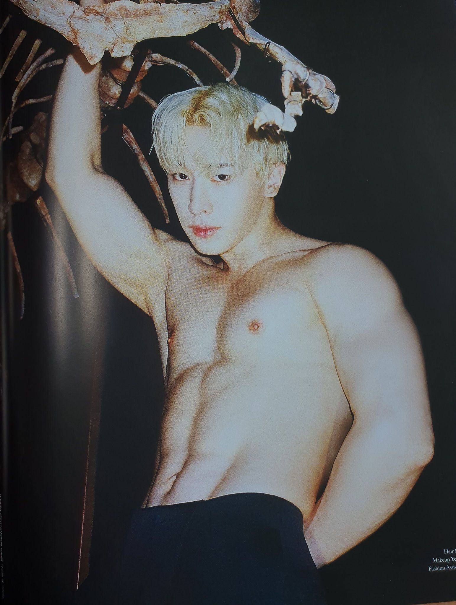 I Feel The Pic Wonho Abs Monsta X Wonho Kpop Guys