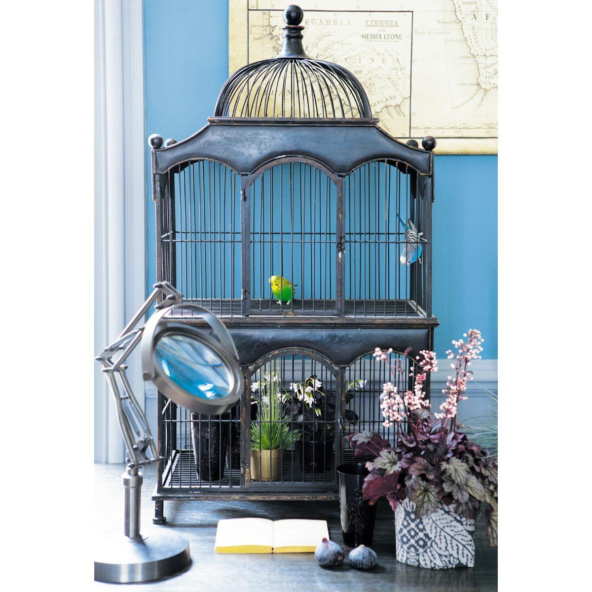 cage vienne maisons du monde h o m e pinterest maison du monde nouvelles maisons et vienne. Black Bedroom Furniture Sets. Home Design Ideas