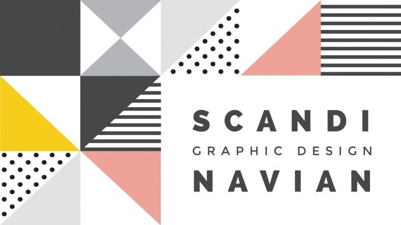 Scandinavian Graphic Design Style Interior Design For Little Square Living Room Scandinavia Vs Furniture Graphic Graphic Design Layouts Graphic Design Books