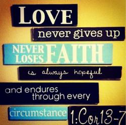 1 Cor: 13-7