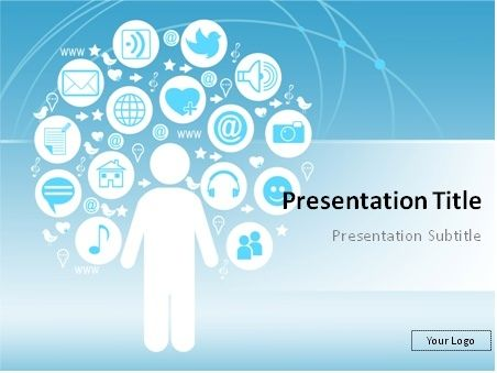 Free Social Media Powerpoint Templates Free Social Media Powerpoint