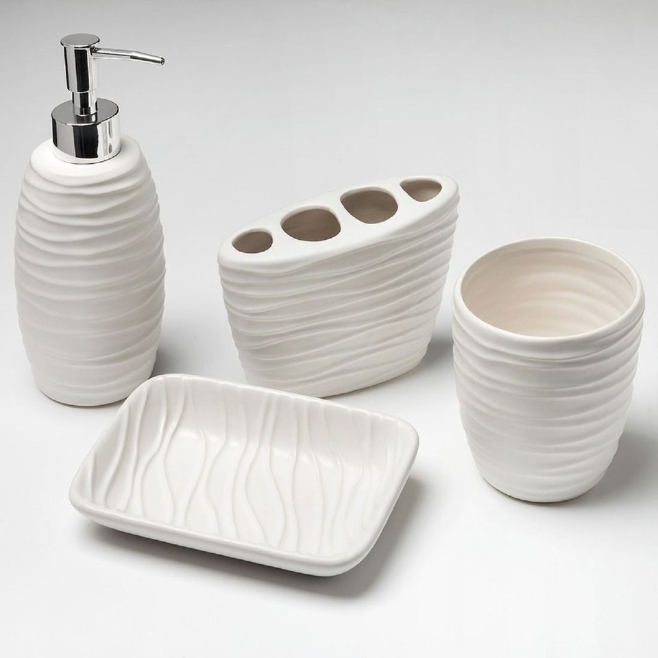 Four Piece Ceramic \