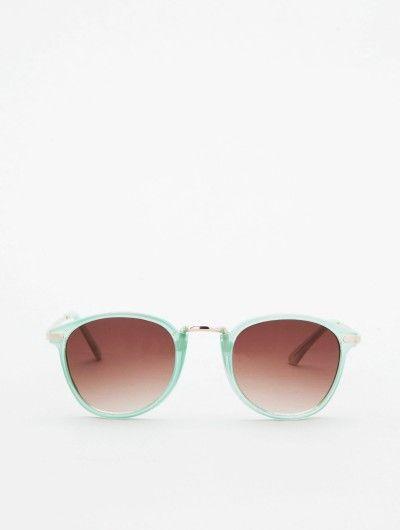 Mint frame shades