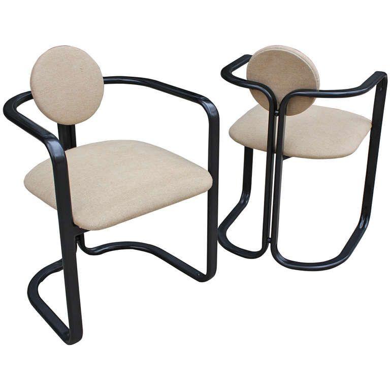 Thema Sedie E Tavoli.Chairs By Gastone Rinaldi For Thema Arredamento