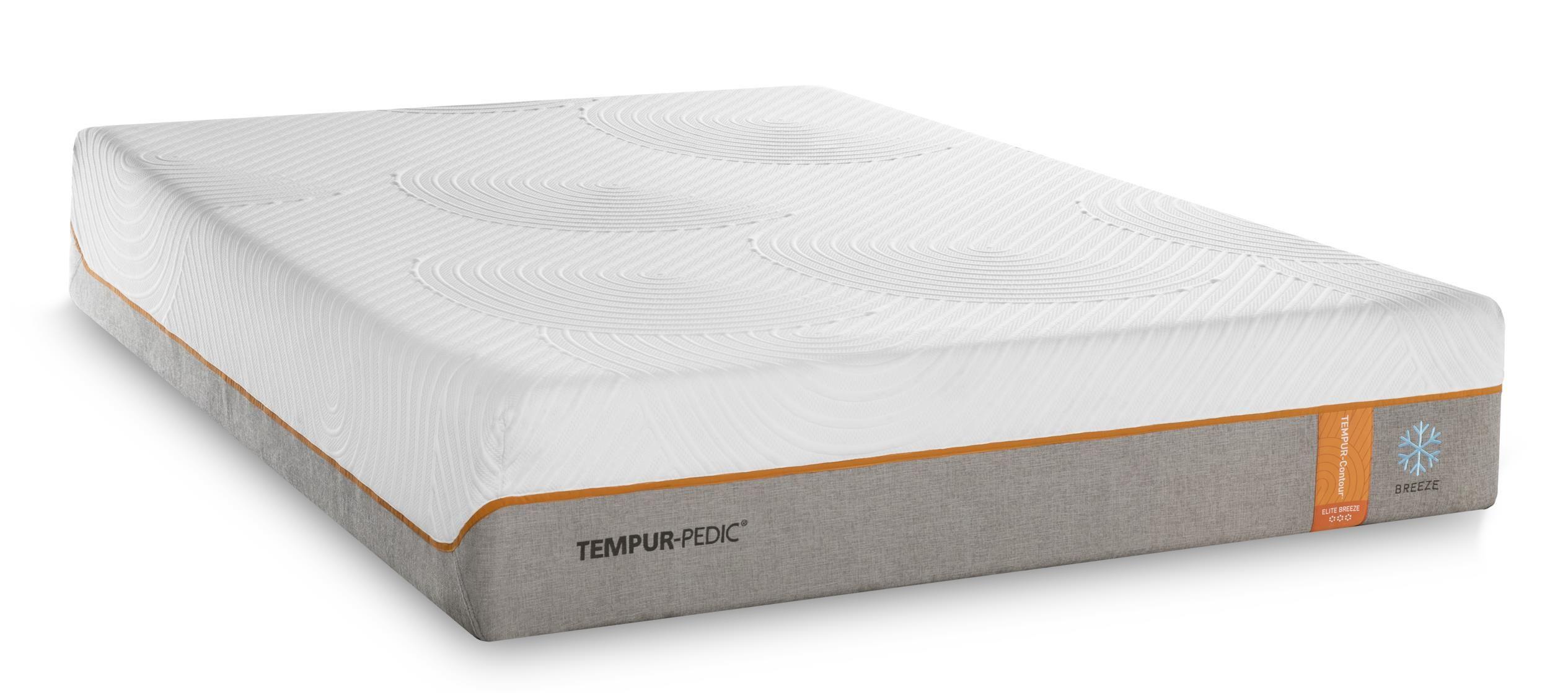 TEMPURContour Elite Breeze Queen MediumFirm Mattress by