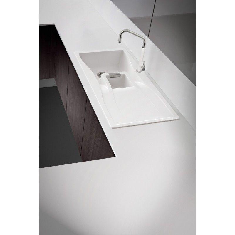 Schock Kitchen Sink Waterfall D100 A 1 Bowl Cristadur Polaris