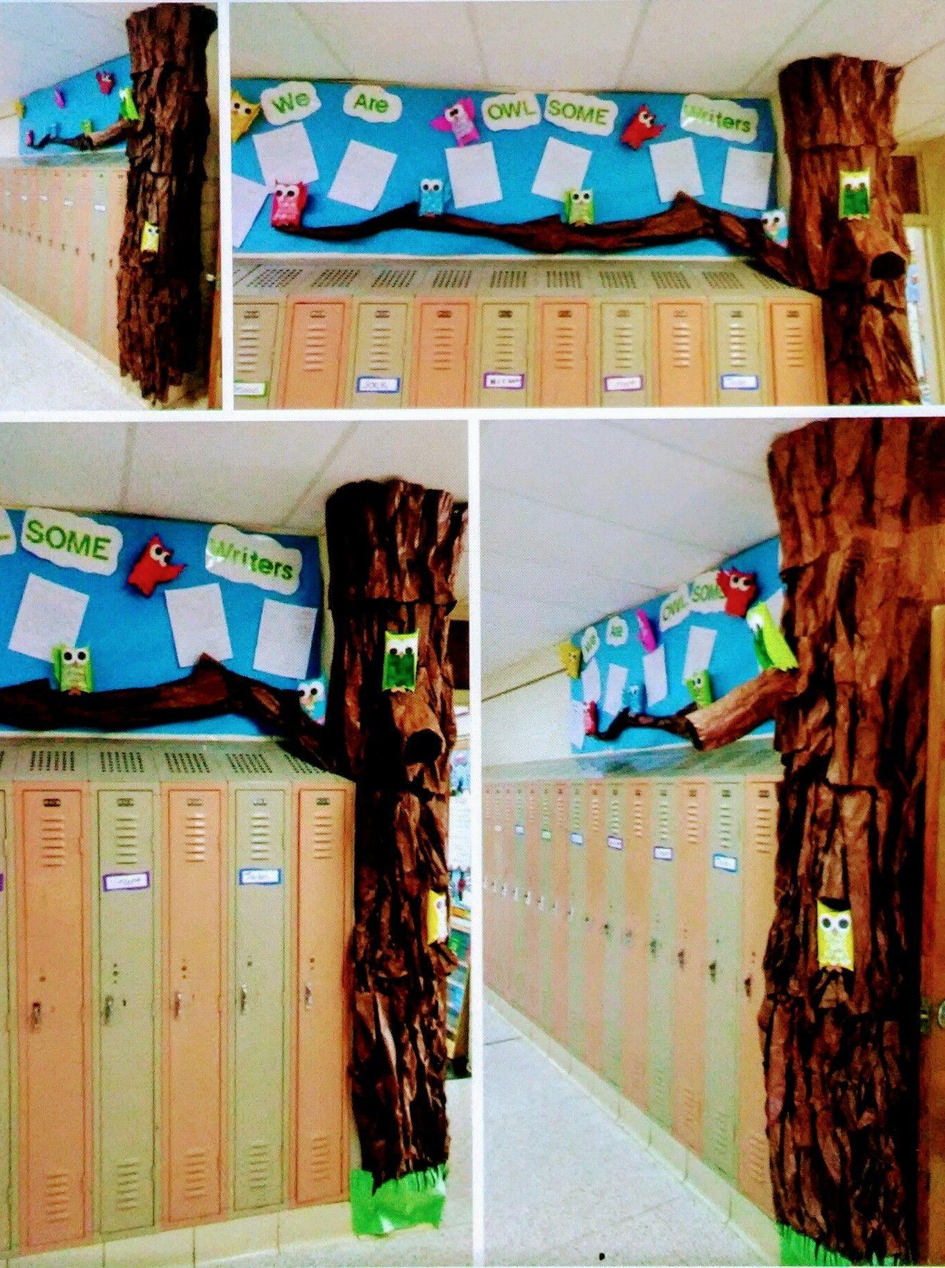 Tree And Owls Bulletin Board 2