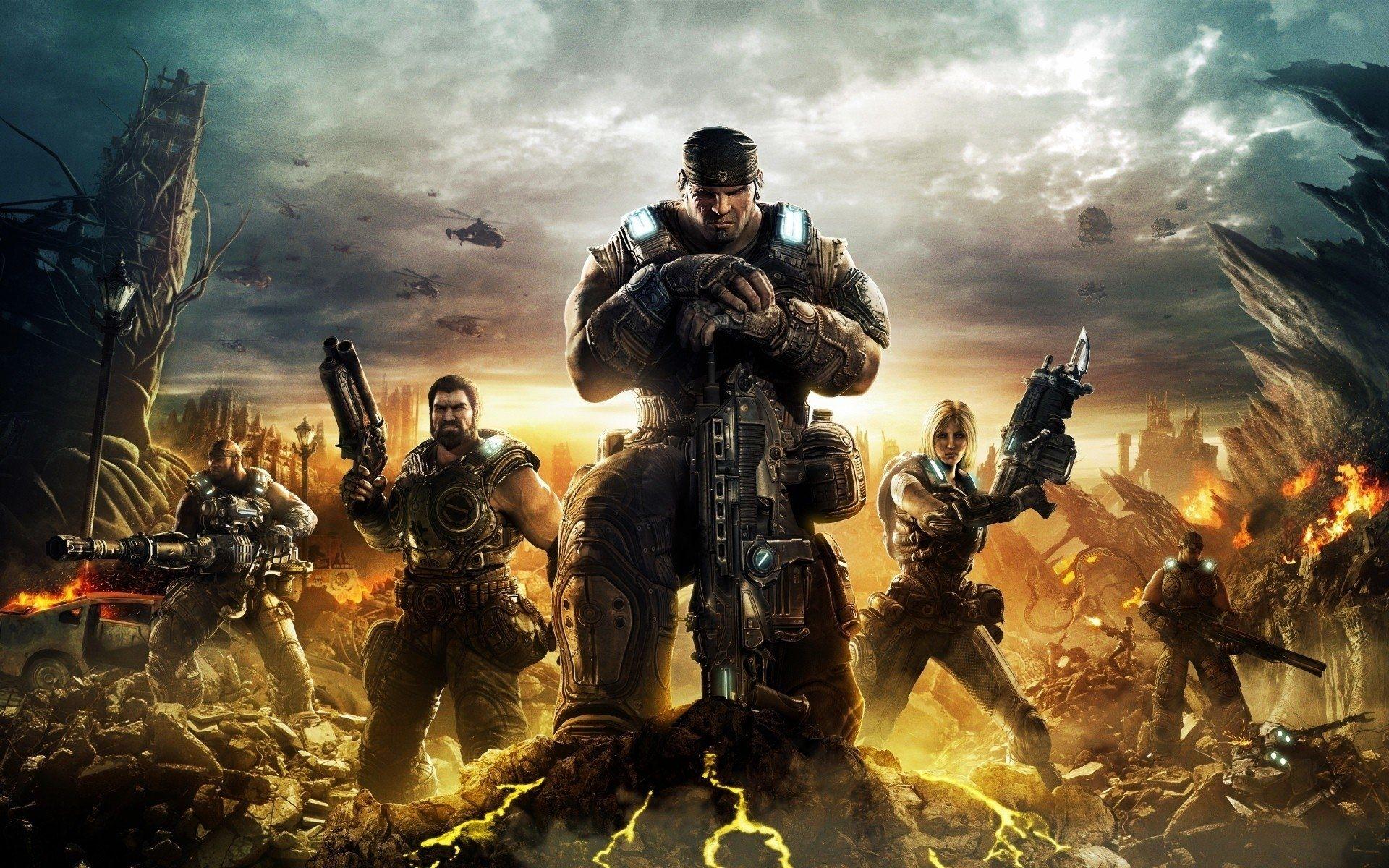 10 Best Gears Of War 3 Wallpaper Full Hd 1080p For Pc Desktop Gears Of War Gears Of War 3 Obstacle Course Games