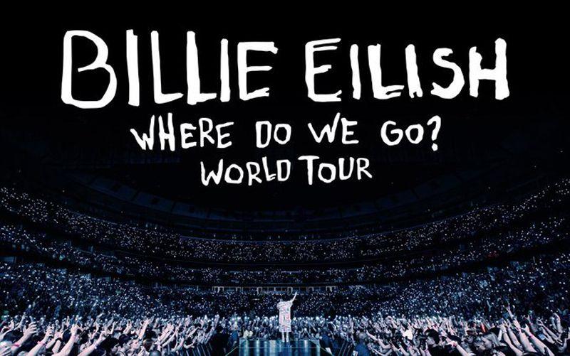 Billie eilish announces where do we go world tour billie
