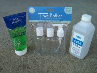 How To Make Natural Hand Sanitizer Natural Hand Sanitizer