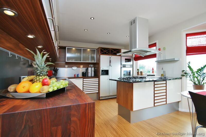 Best Pictures Of Kitchens Modern Two Tone Kitchen Cabinets 400 x 300