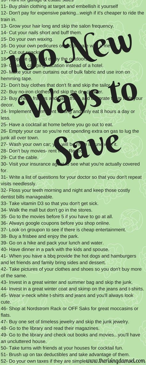 100 Best Money Saving Tips to Keep the Jingle in Your Pocket