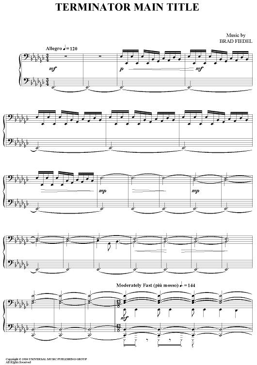 how to write a bass line piano