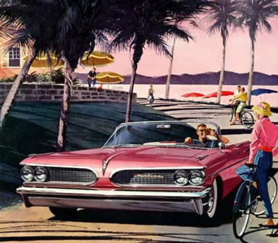 Advert for Pontiac Catalina - 1959