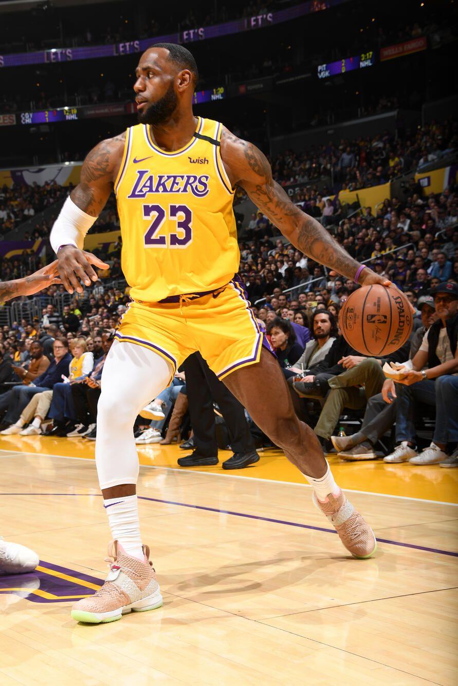 Photos Lakers Vs Knicks 01 07 2020 Los Angeles Lakers In 2020 Lakers Vs Nba Lebron James Lakers