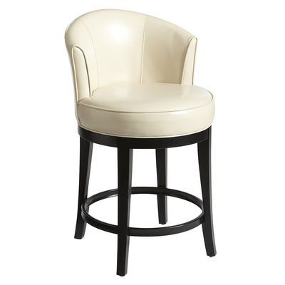 Isaac Ivory Swivel Counter Stool For The Home Swivel