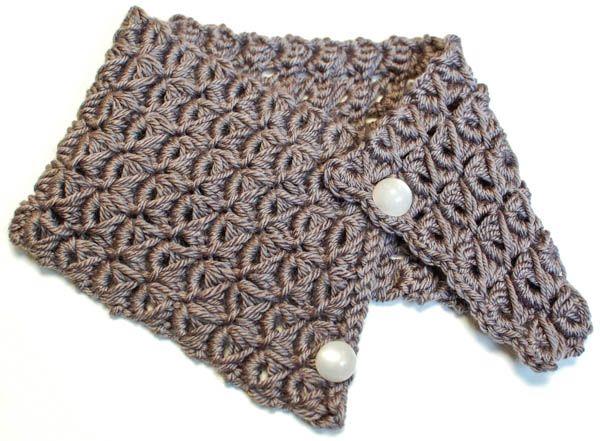 Broomstick Lace Cowl | Crochet bufanda, Ganchillo y Bufanda cuello