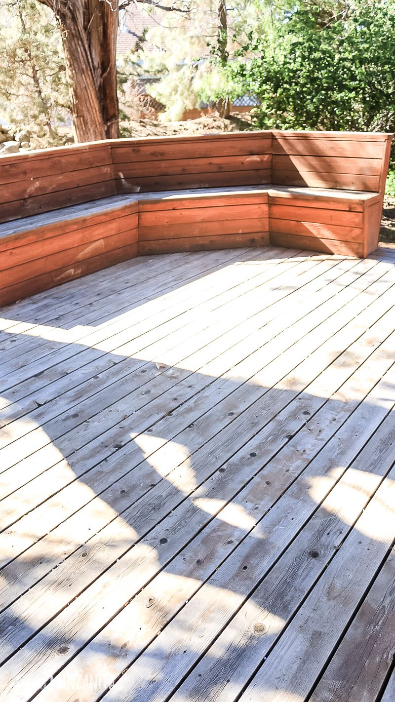 How To Restore A Deck That Has Been Neglected Deck Design Deck