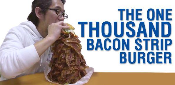 1000x bacon burger