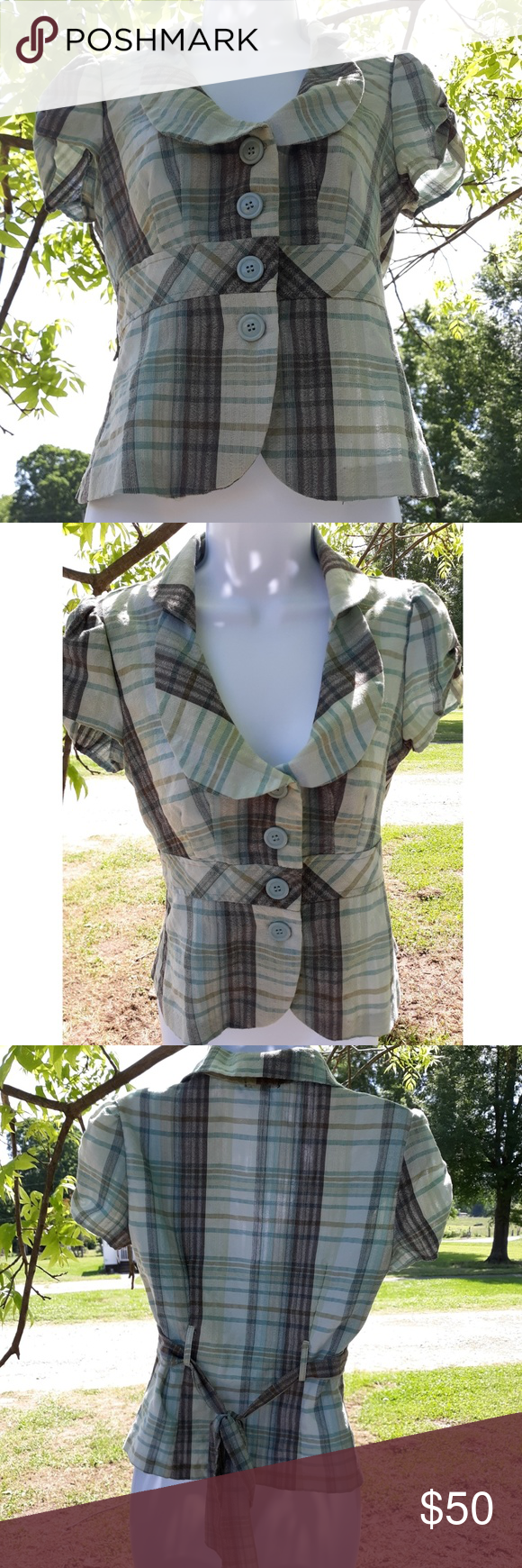 Green Plaid Earth-toned Business Attire Listing many items today!! Details about this coming soon! Thanks for your patience!! Clean & smoke-free home