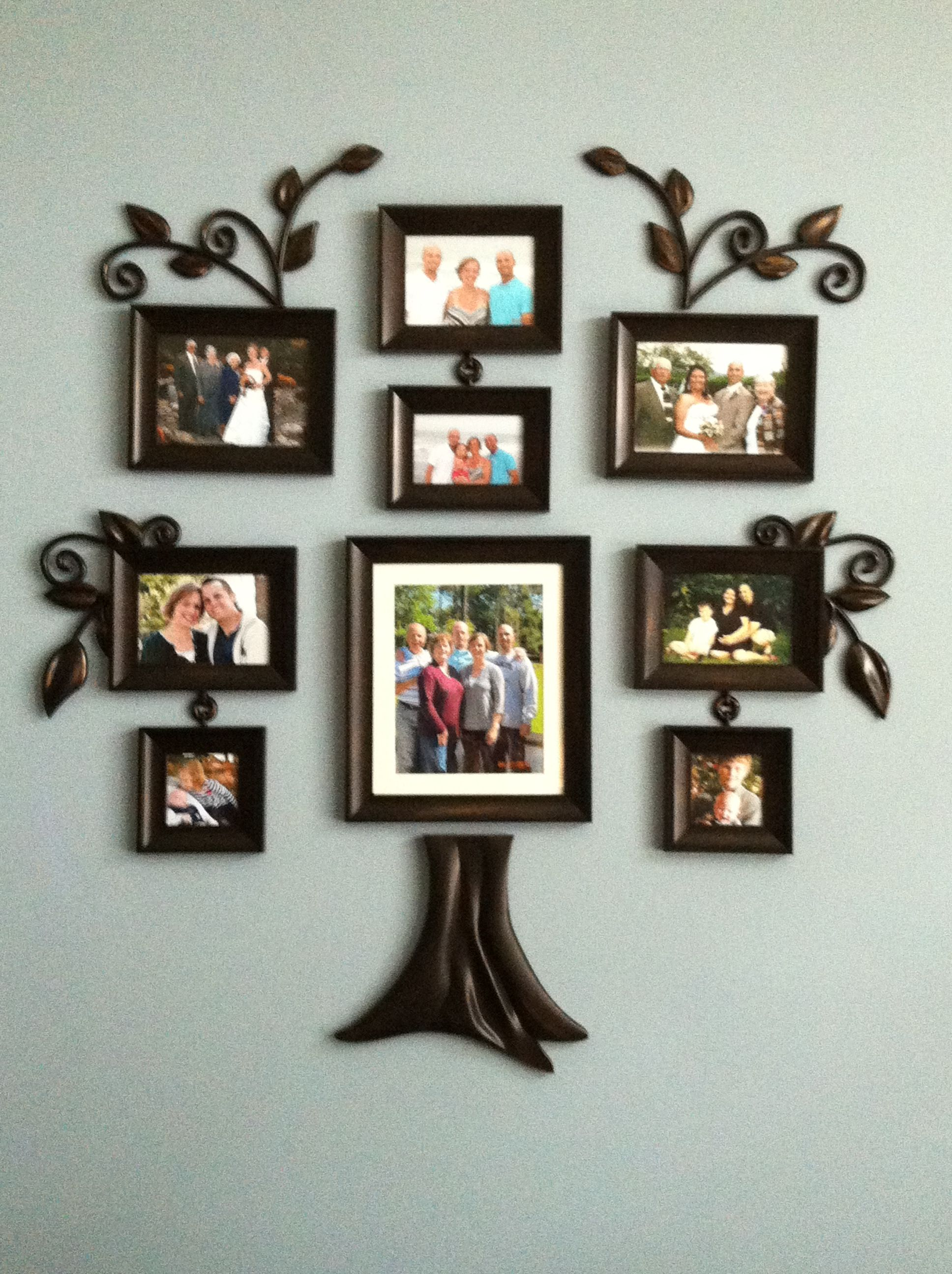 Family Tree Made Simple Supplies Bed Bath Beyond Family Tree Or A Simple Decal Sho Family Tree With Pictures Family Tree Picture Frames Family Tree Wall