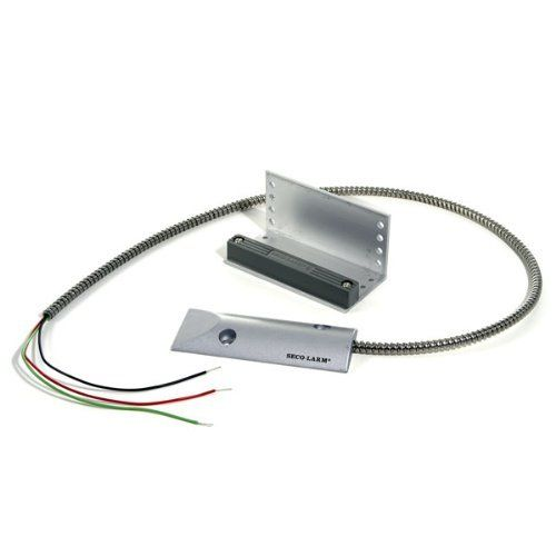 Garage Contact Normally Opened Or Closed By Seco Larm 17 98 Use This Heavy Duty Magnetic Garage Door Contact Switch On Garage Doors Roll Up Door Larme Pieds