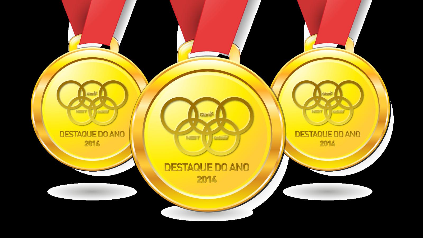 Medalha para destaques do ano