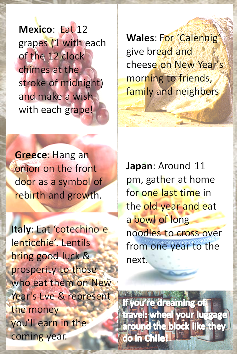 New Year S Food Traditions Around The Globe New Years Superstitions New Years Eve Traditions New Year S Eve Food Traditions