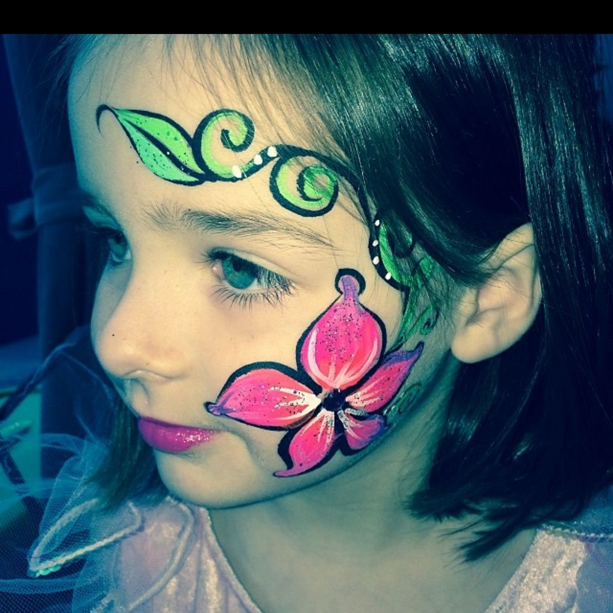 Flower Face Paint Creative faces for Kids By Dre