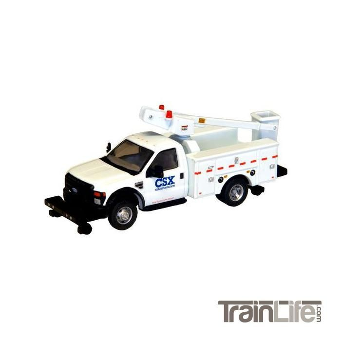 HO Scale: Lighted Ford F-450 XL Regular Cab