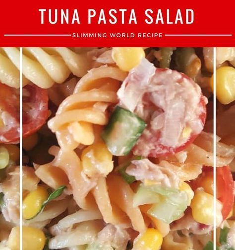 tuna pasta salad – A Slimming World christmas buffet recipe