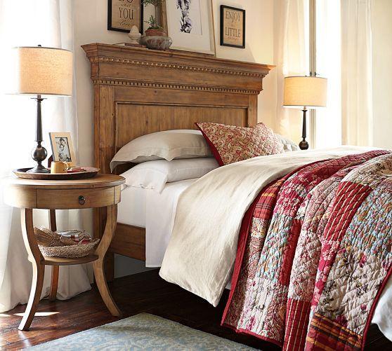 Addison Platform Bed Pottery Barn Bedrooms Headboard Bedroom Decor