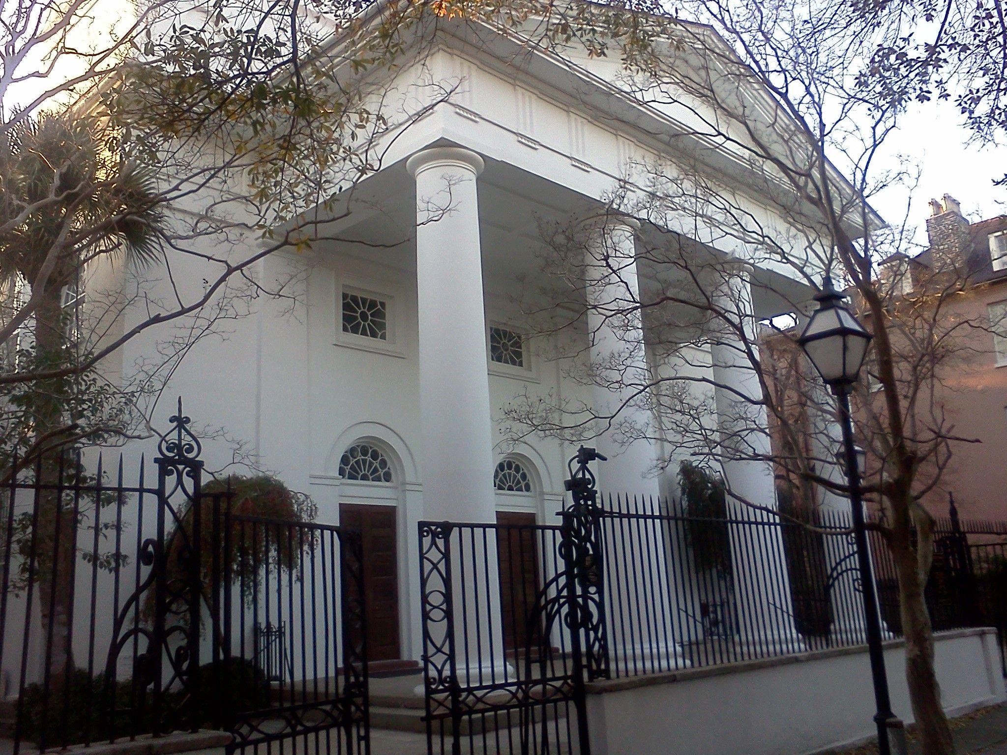 The First Baptist Church Charleston Historic