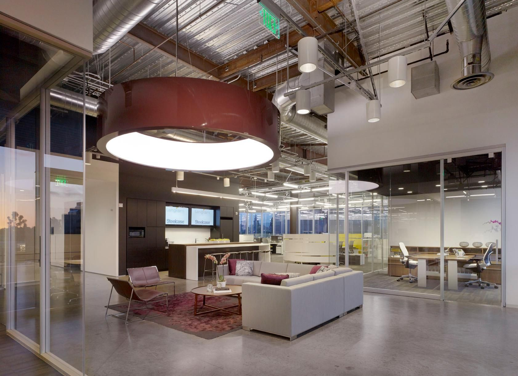Tangram S Newport Beach Offices And Showroom Industrial