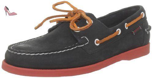 Réduction Des Achats En Ligne Sebago Docksides - Chaussures Bateau - Homme  Rouge (Wine Nubuck 1bcf6ad5c52
