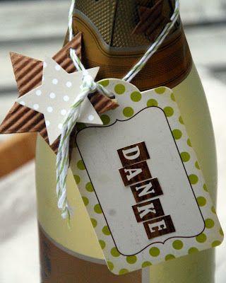 Flaschen-Etiketten