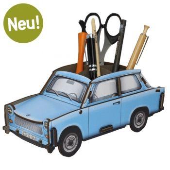Stiftebox Trabant - Kristallblau