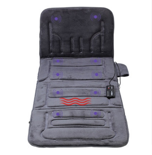92.15$  Watch here - http://ali3fq.worldwells.pw/go.php?t=32754103205 - Car & home use massage mattress 12V full-body multifunctional electric massage seat heated vibration massage cushion coustist   92.15$
