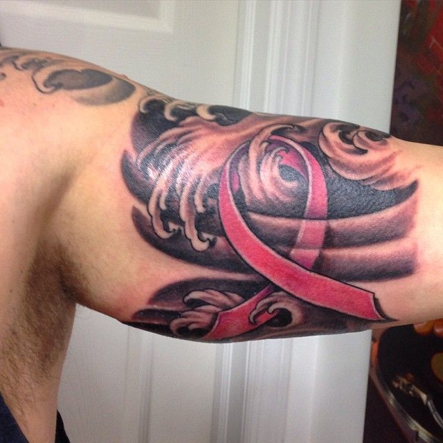Pin On Top Left Arm