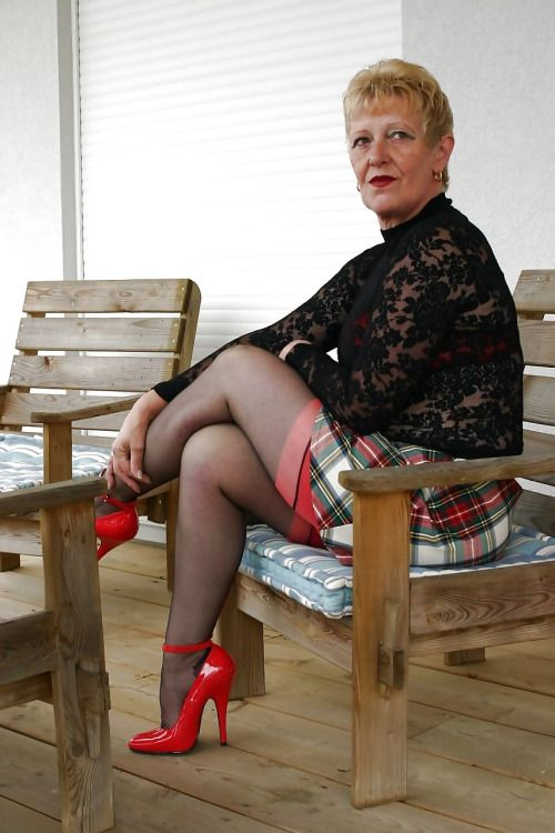 Femdom stockings worship and trample 5