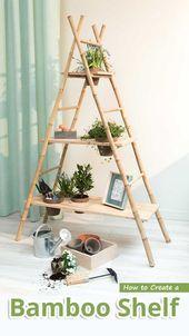 Photo of So erstellen Sie ein Bambusregal – Empfohlene Tipps  – Gartenarbeit