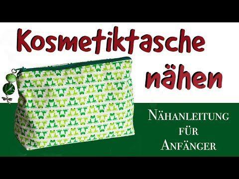 Photo of Nähanleitung Kosmetiktasche nähen mit Schnittmuster