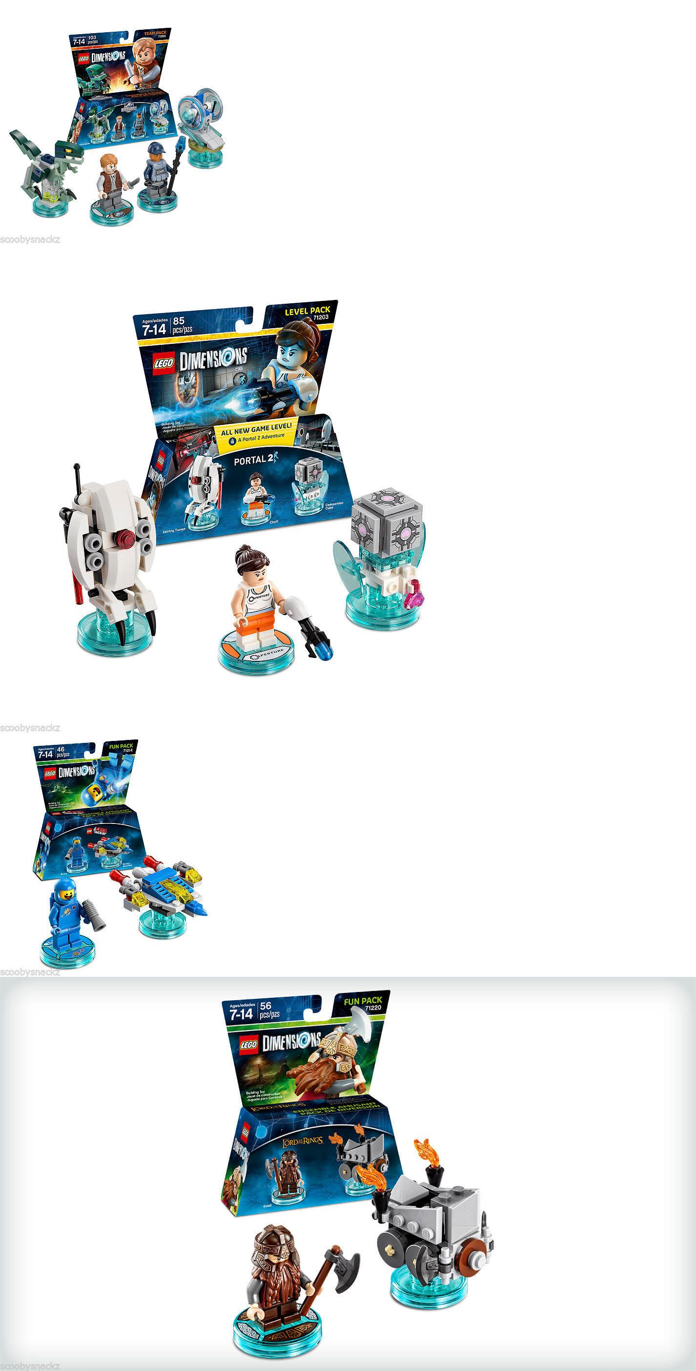 Toys To Life 182180 Lego Dimensions Fun Packs Team Packs