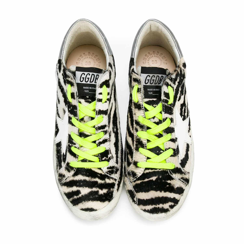 Sportiva Goose Zebrata Bassa Sneaker Girl Scarpa Golden rCoxdeB